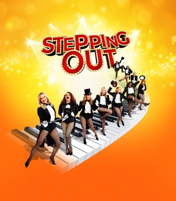 'Stepping Out' cast with Amanda Holden, Angela Griffin, Tracy Ann Oberman and Tamsin Outhwaite, West End.