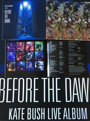 Kate Bush 'Before the Dawn Live' Album artwork.