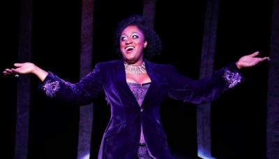 'Chicago' Matron Momma Morton, Curve Theatre.